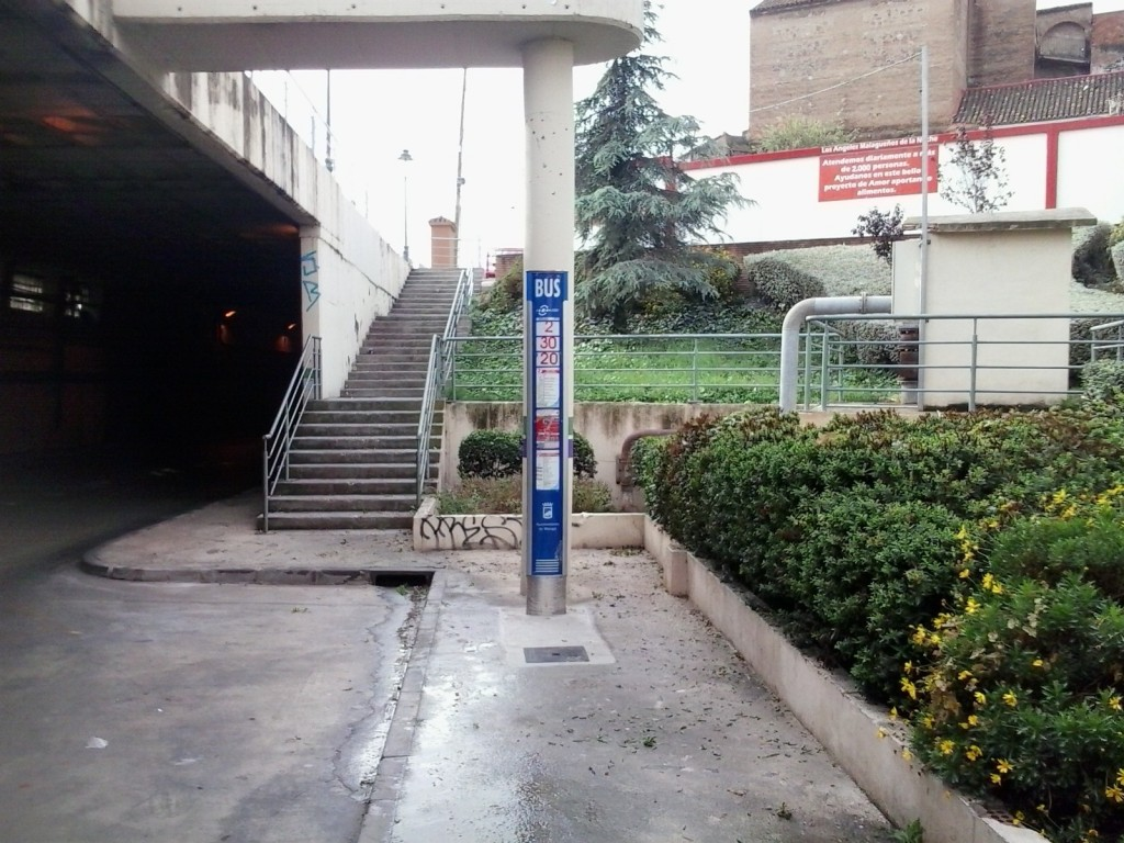 ANULADA Pasillo de Guimbarda-Tunel de Hacienda (Código 262)