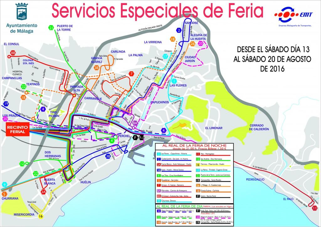 FERIA SERVICIO NOCHE Y DÍA 2016