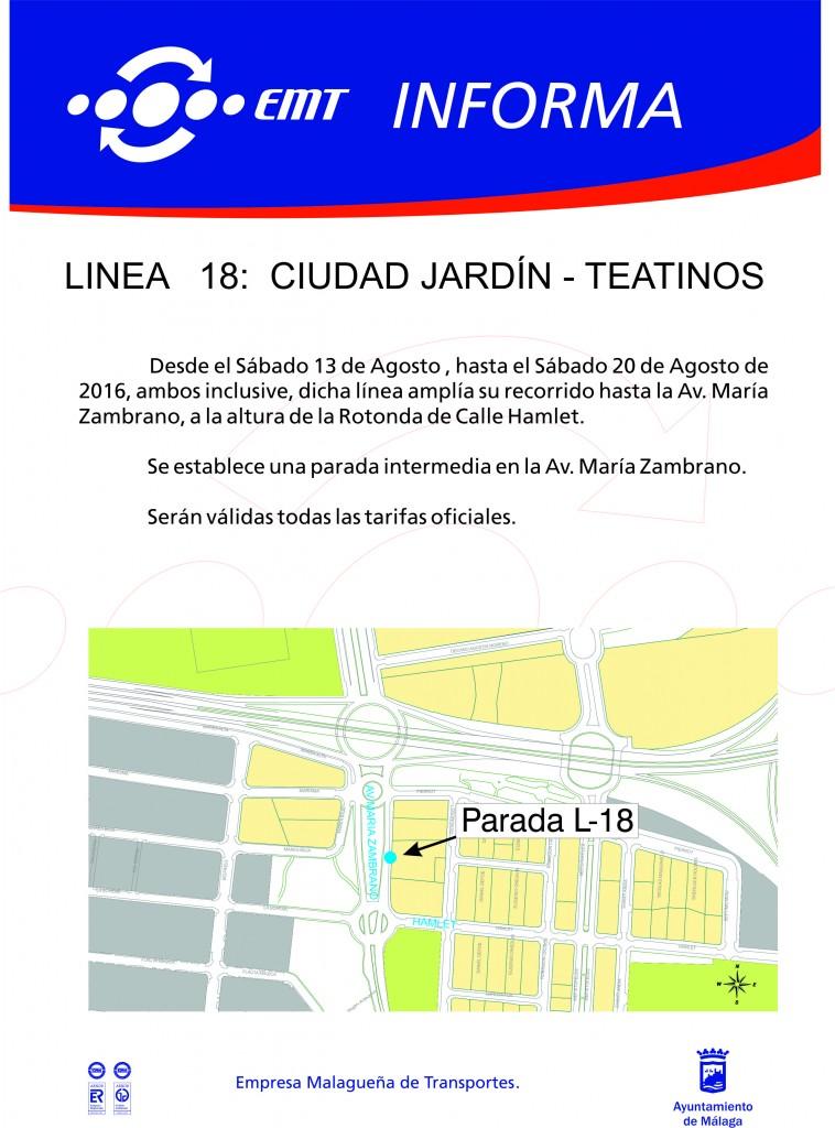 Aviso Feria L18 12-08-16