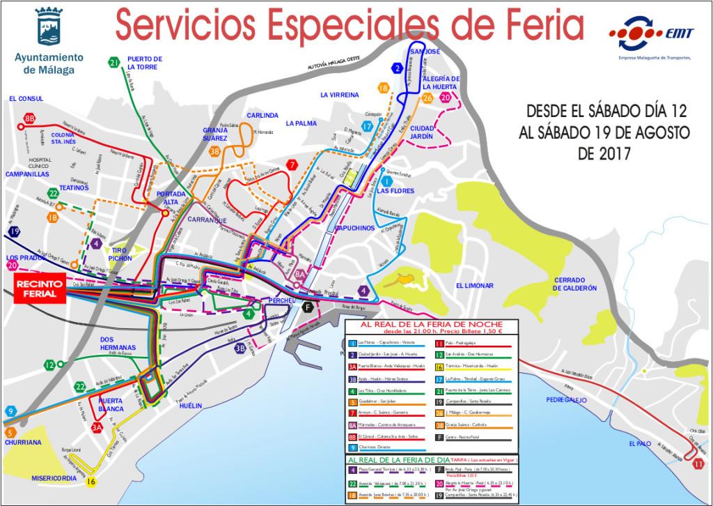 FERIA SERVICIO NOCHE Y DÍA 2017